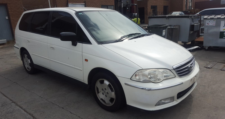 2000 HONDA ODYSSEY V6L (6 SEAT) 5 SP SEQUENTIAL AUTO 3.0L MULTI POINT F/INJ ENGINE LONG