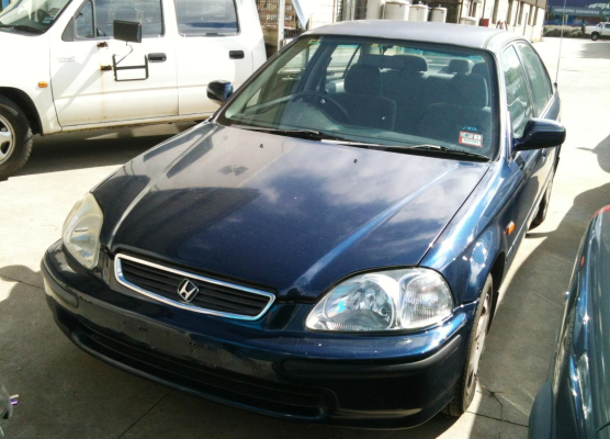 1996 HONDA CIVIC 1.6L MULTI POINT F/INJ ENGINE LONG