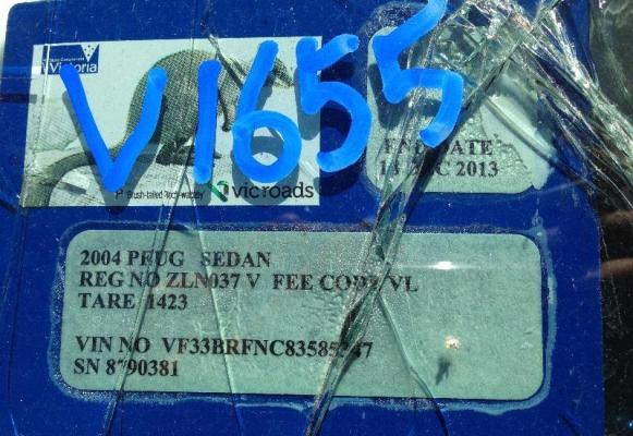 2004 PEUGEOT 307 DOOR MIRROR RF