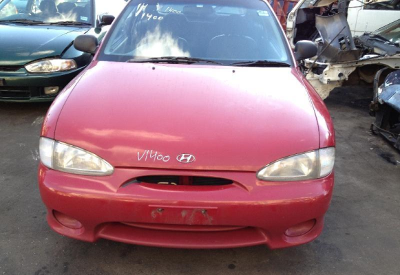 2000 HYUNDAI EXCEL 1.5L MULTI POINT F/INJ ENGINE LONG