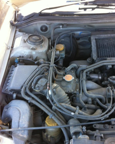 2000 SUBARU FORESTER ENGINE LONG