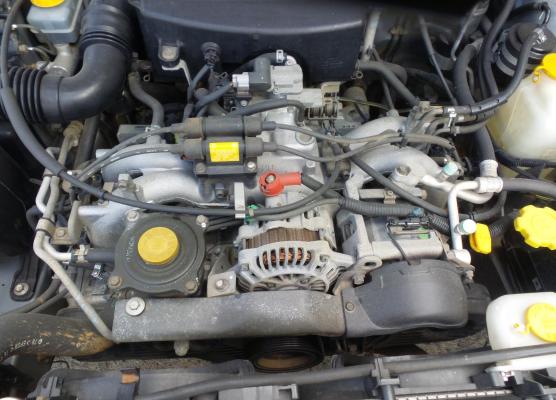 2000 SUBARU FORESTER ENGINE LONG