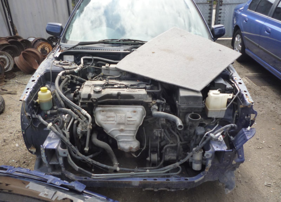 2002 FORD LASER KQ ENGINE LONG