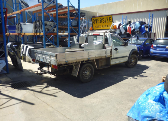 2003 HOLDEN RODEO RA TRANSMISSION/GEARBOX