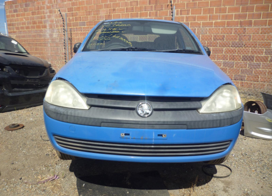 2002 HOLDEN BARINA XC BAR REAR COMPLETE