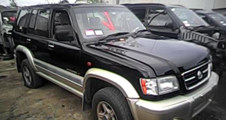 2002 HOLDEN JACKAROO U8 DIFF CENTRE REAR