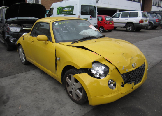 2004 DAIHATSU COPEN L880 5 SP MANUAL 0.7L TURBO MPFI DRIVESHAFT LF