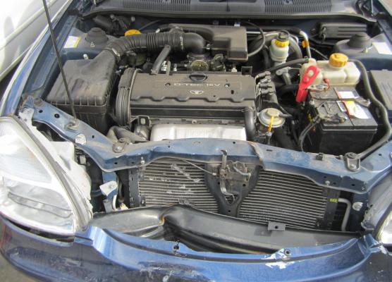 2000 DAEWOO NUBIRA SERIES II CDX 2.0L MULTI POINT F/INJ ENGINE LONG