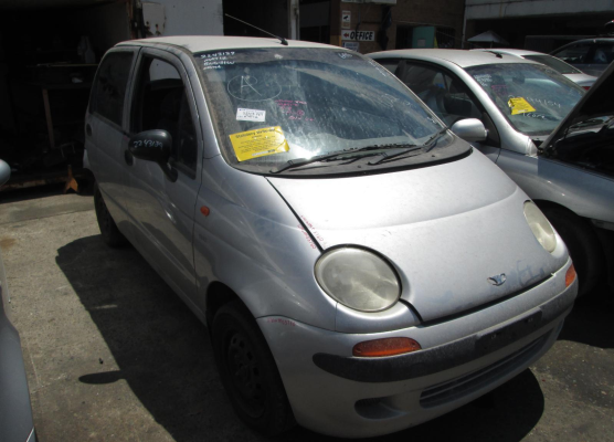 2001 DAEWOO MATIZ S 5 SP MANUAL 0.8L MULTI POINT F/INJ ENGINE LONG