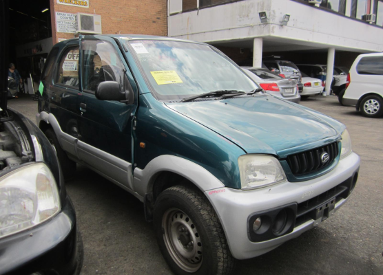 2002 DAIHATSU TERIOS 1.3L MULTI POINT F/INJ ENGINE LONG