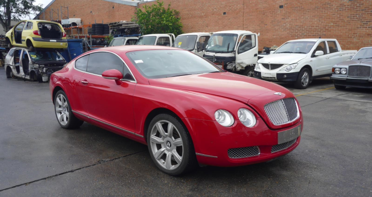 2007 BENTLEY CONTINENTAL 3W 6.0L TURBO MPFI RADIO