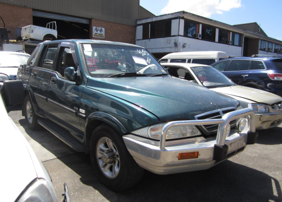 2005 SSANGYONG MUSSO 2.9L DIESEL TURBO F/INJ ENGINE COMPUTER (ECU)