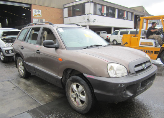 2005 HYUNDAI SANTA FE 05 UPDATE (4x4) 4 SP AUTOMATIC 2.7L MULTI POINT F/INJ HEADLIGHT RIGHT