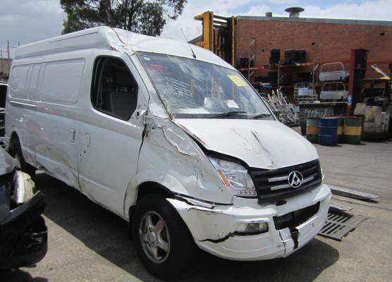 2015 LDV V80 K1 2.5L DIESEL TURBO F/INJ HEATER FAN
