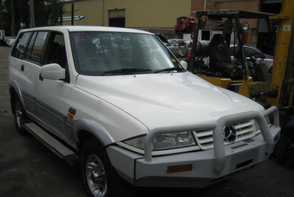 1996 SSANGYONG MUSSO (4x4) WIPER MOTOR FRONT