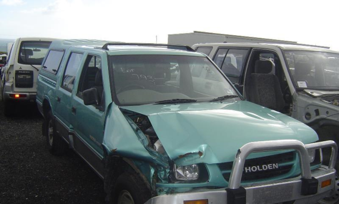 1999 HOLDEN RODEO TRANSMISSION/GEARBOX