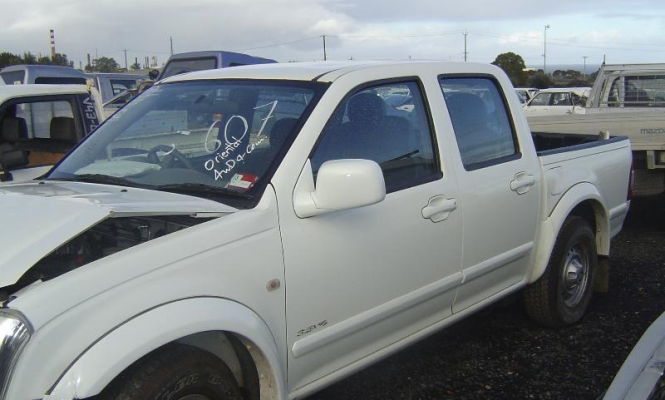 2003 HOLDEN RODEO TRANSMISSION/GEARBOX