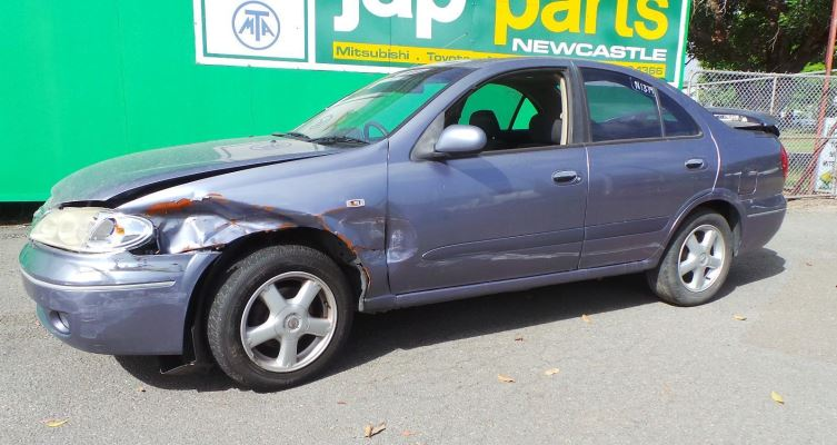 2005 NISSAN PULSAR 1.8L MULTI POINT F/INJ BAR REAR COMPLETE
