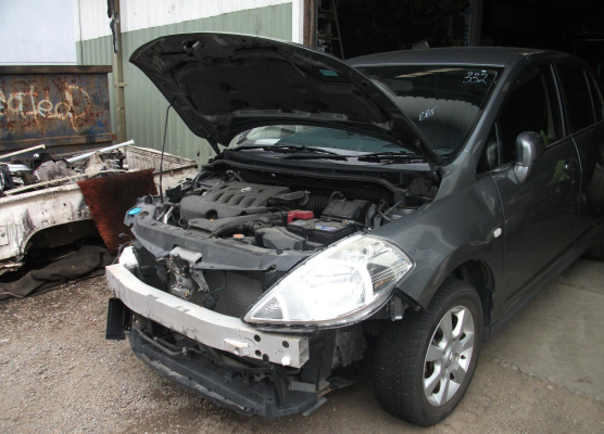 2007 NISSAN TIIDA C11 1.8L MULTI POINT F/INJ ENGINE LONG