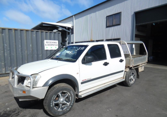 2004 HOLDEN RODEO RA TRANSMISSION/GEARBOX