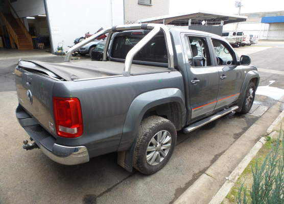 2011 VOLKSWAGEN AMAROK 2H 6 SP MANUAL 2.0L DIESEL TURBO F/INJ PWR STEER RACK