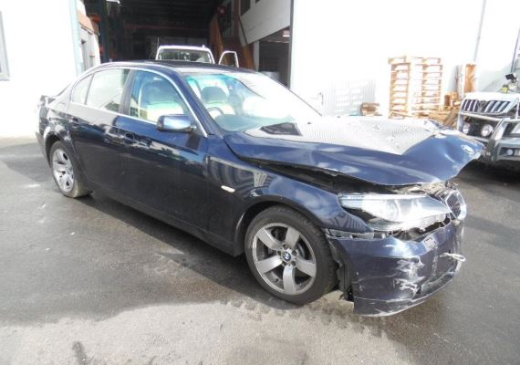 2004 BMW 5 E60 6 SP AUTOMATIC STEPT PWR STEER RACK