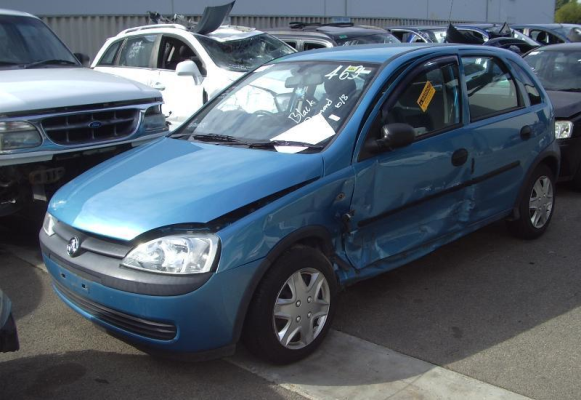 2001 HOLDEN BARINA TRANSMISSION/GEARBOX