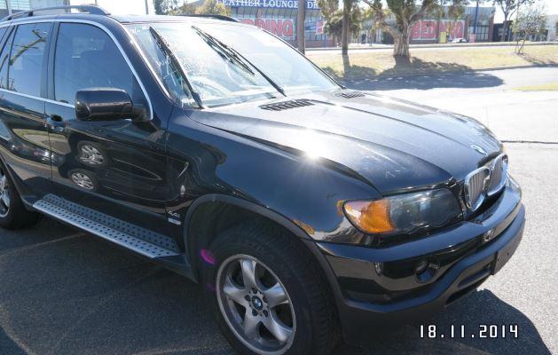 2000 BMW X5 E53 4.4i 5 SP AUTOMATIC STEPTRONIC 4.4L MULTI POINT F/INJ AIR CON COMPRESSOR