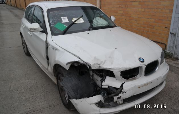 2010 BMW 1 ENGINE LONG