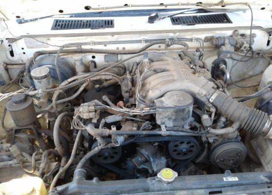 1993 NISSAN NAVARA SMD21 DX (4x4) 5 SP MANUAL 4x4 2.4L ELECTRONIC F/INJ SEAT RF
