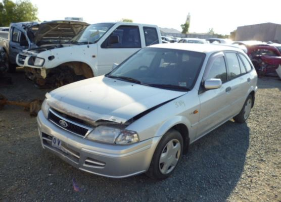2001 FORD LASER TRANSMISSION/GEARBOX