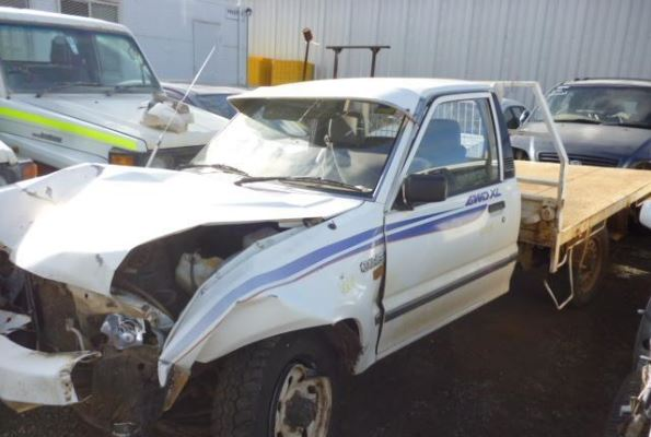 1997 FORD COURIER PD TRANSMISSION/GEARBOX