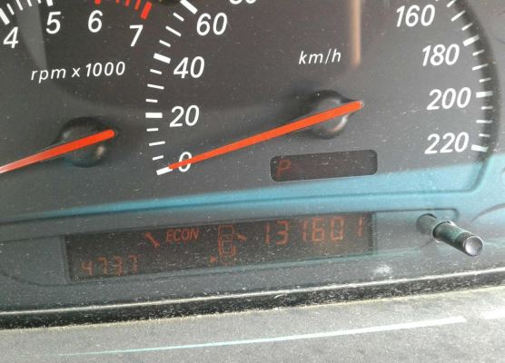 1999 FORD FALCON AU COMPLETE VEHICLE