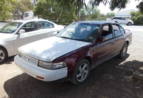 1994 NISSAN MAXIMA A31 EXECUTIVE 4 SP AUTOMATIC 3.0L MULTI POINT F/INJ ENGINE LONG