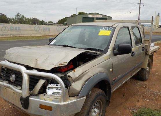 2003 HOLDEN RODEO RA ENGINE LONG