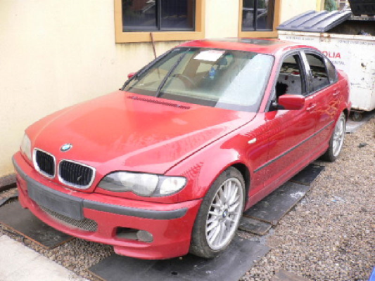 2002 BMW 3 E46 18i 5 SP AUTOMATIC STEPTRONIC 2.0L MULTI POINT F/INJ ENGINE LONG