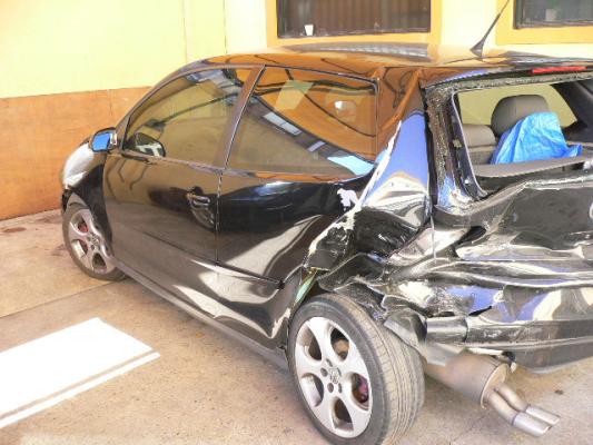2006 VOLKSWAGEN POLO 9N GTi 5 SP MANUAL 1.8L TURBO MPFI GRILLE