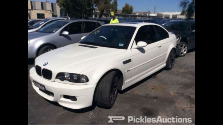 2005 BMW M3 E46 6 SP SEQUENTIAL MANUAL 3.2L MULTI POINT F/INJ DOOR LF