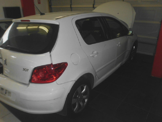 2005 PEUGEOT 307 MY06 UPGRADE XSE 2.0 5 SP MANUAL 2.0L MULTI POINT F/INJ GRILLE