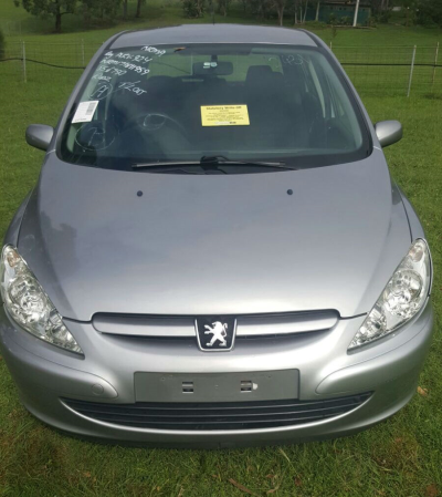 2004 PEUGEOT 307 4 SP AUTOMATIC 1.6L MULTI POINT F/INJ DOOR RR