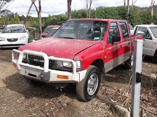 1994 HOLDEN RODEO DLX (4x4) 5 SP MANUAL 4x4 2.8L DIESEL TURBO AIR CON COMPRESSOR