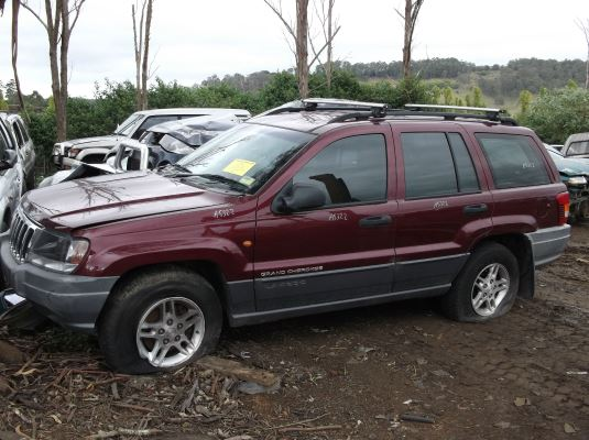 2002 JEEP CHEROKEE KJ 4 SP AUTOMATIC 3.7L MULTI POINT F/INJ DOOR 1/4 GLASS LR