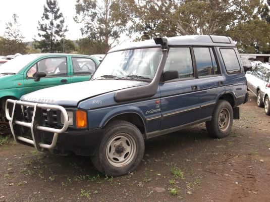 1992 LAND ROVER DISCOVERY Tdi (4x4) 5 SP MANUAL 4x4 2.5L DIESEL TURBO BONNET