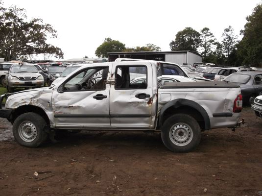 2005 HOLDEN RODEO 4 SP AUTOMATIC 3.5L MULTI POINT F/INJ DIFF COMPLETE REAR
