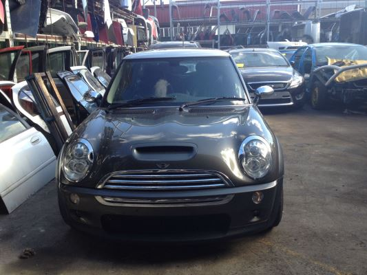 2006 MINI COOPER R53 UPGRADE II S PARK LANE CVT AUTO 6 SP SEQUENTIAL 1.6L SUPERCHARGED MPFI DOOR RF