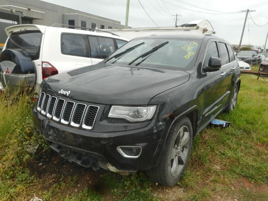2014 JEEP GRAND CHEROKEE WK MY14 OVERLAND (4x4) 8 SP AUTOMATIC 3.0L DIESEL TURBO F/INJ STEERING WHEEL