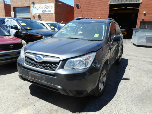 2014 SUBARU FORESTER MY14 2.5I CONTINUOUS VARIABLE 2.5L MULTI POINT F/INJ TAILGATE