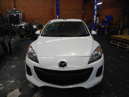 2013 MAZDA MAZDA3 BL MY13 NEO 5 SP AUTOMATIC 2.0L MULTI POINT F/INJ BAR REINFORCE FRONT