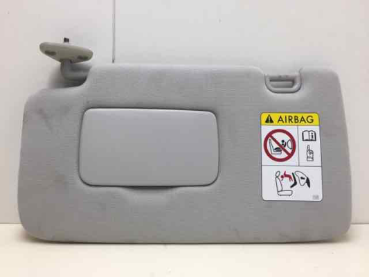 2014 SUBARU FORESTER MY14 2.5I CONTINUOUS VARIABLE 2.5L MULTI POINT F/INJ SUNVISOR LEFT