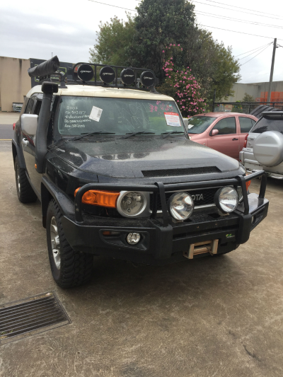 2011 TOYOTA FJ CRUISER GSJ15R 5 SP AUTOMATIC 4.0L MULTI POINT F/INJ ALTERNATOR